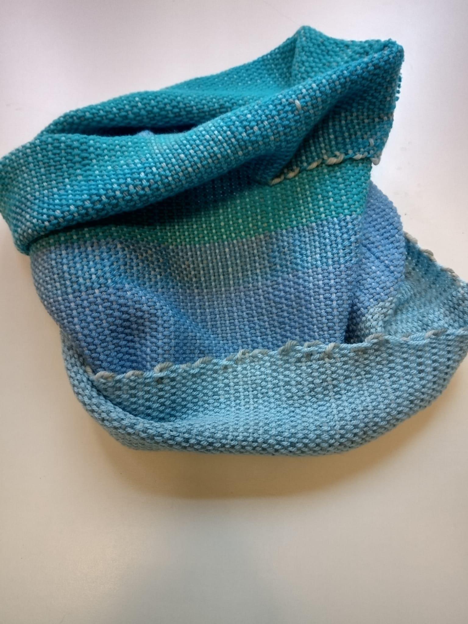 Fascia scaldacollo in lana Image